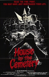House by the Cemetery poster