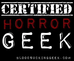 Certified Horror Geek Badge 300x250 on black