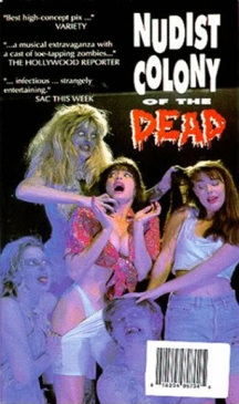 Nudist Colony of the Dead box art - zombie movie poster roundup